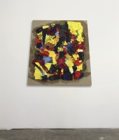 Larger Pile(1), 2016, Oil on Linen, 48in x 48in(trapezoid)